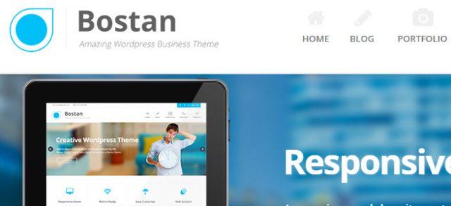 多機能と爽やかな作りを合わせた好印象コーポレートサイト / Bostan