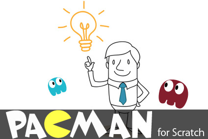 パックマンゲーム for Scratch2.0