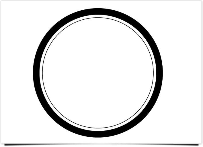 レトロ ロゴ 複合パス