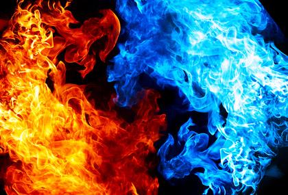 炎 背景素材