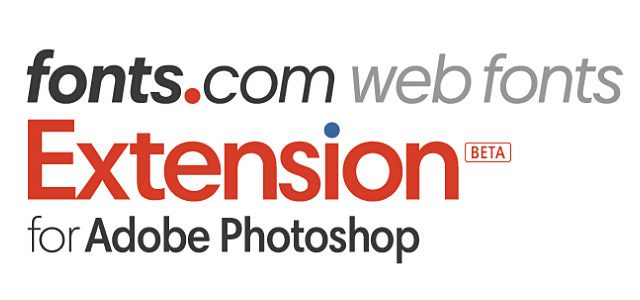 Fonts.com for Adobe Photoshop