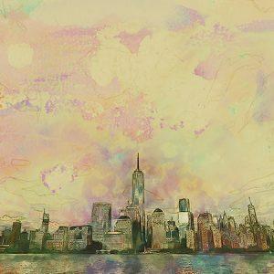 Sketch City Effect1 / スケッチされた街