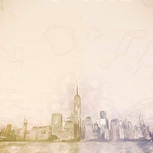 Sketch City Effect4 / スケッチされた街