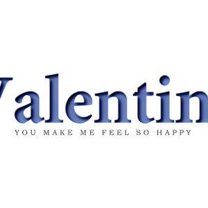 Valentine Text Type3 / バレンタイ テキスト