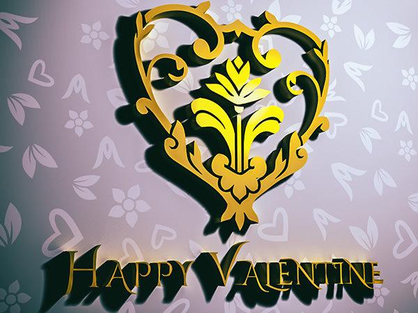 PhotoshopCC-Product-3D-Text-&-Logo-Happy-Valentine1-Type3-Thumbnails