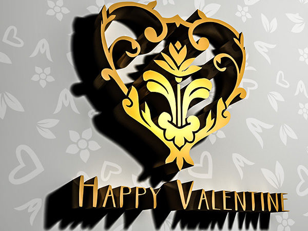 PhotoshopCC-Product-3D-Text-&-Logo-Happy-Valentine2-Type1-Thumbnails