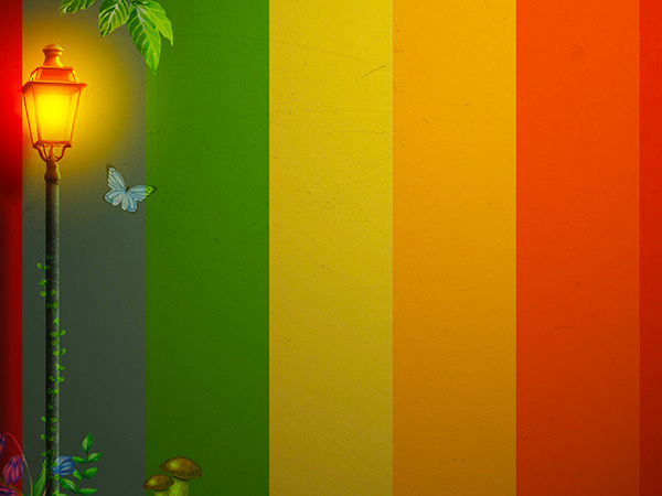 Color Wall Effect2 / カラーウォール