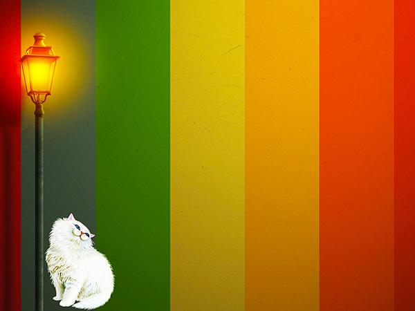 Color Wall Effect4 / カラーウォール