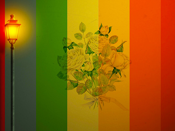 Color Wall Effect5 / カラーウォール