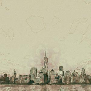 Sketch City Effect3 / スケッチされた街