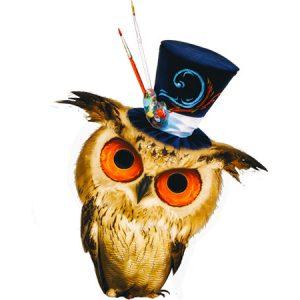 Kawaii Owl Type2 / 魔術師フクロウ