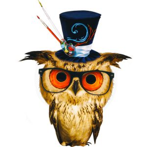 Kawaii Owl Type3 / 魔術師フクロウ