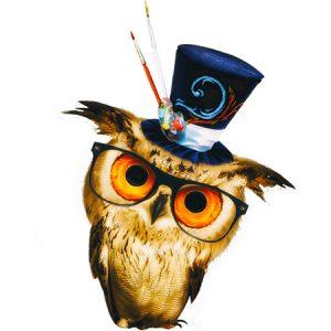 Kawaii Owl Type4 / 魔術師フクロウ