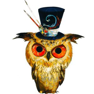 Kawaii Owl Sketch Type5 / 魔術師フクロウ(スケッチ)