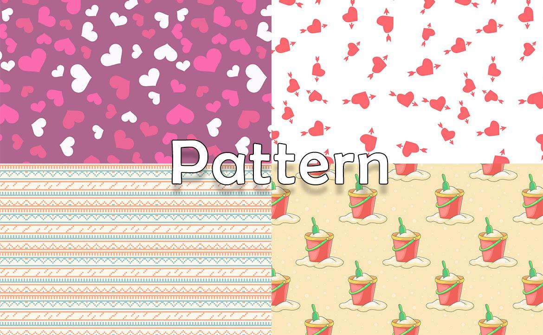 Pattern Background Type5 / おしゃれなパターン背景