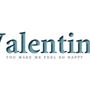 Valentine Text Type5 / バレンタイ テキスト