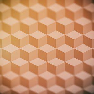 Cube Pattern Effect1 Blur / キューブ パターン エフェクト1(周辺ぼかし)