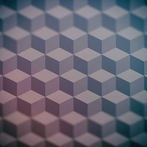 Cube Pattern Effect2 Blur / キューブ パターン エフェクト2(周辺ぼかし)
