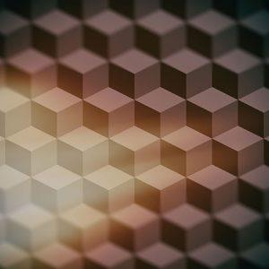 Cube Pattern Effect4 Blur / キューブ パターン エフェクト4(周辺ぼかし)