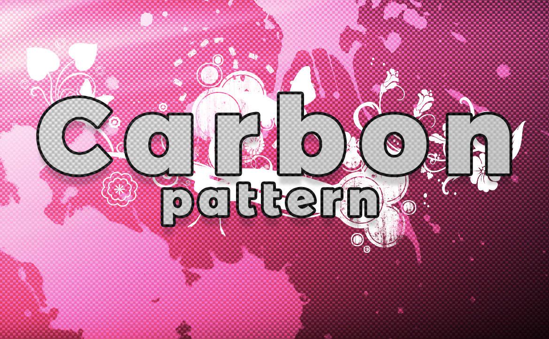 Carbon Pattern Orange Effect / カーボン パターン エフェクト