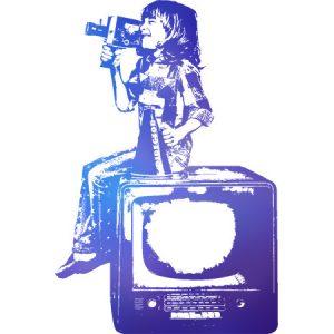 Movie Kids Blue / 映画を撮る少年(青色)