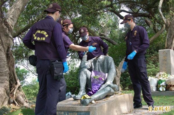 八田與一の銅像が破壊される