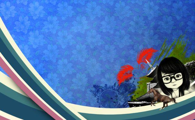 Photoshop CC チュートリアル / ファニーなラインデザイン 完成
