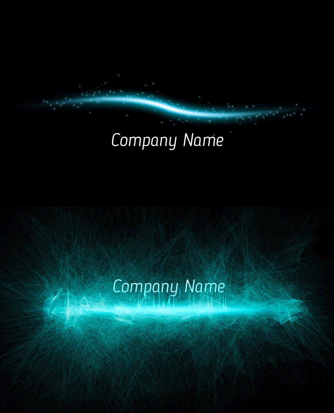 Photoshop CC チュートリアル / 光のラインの作り方 のサンプル