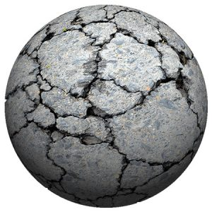 Stone Crack1 Planet / 惑星(岩 クラック1)
