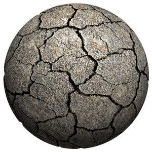 Stone Crack2 Planet / 惑星(岩 クラック2)