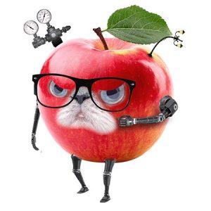 Apple Cat Man(Angry) / アップルマン(怒り)