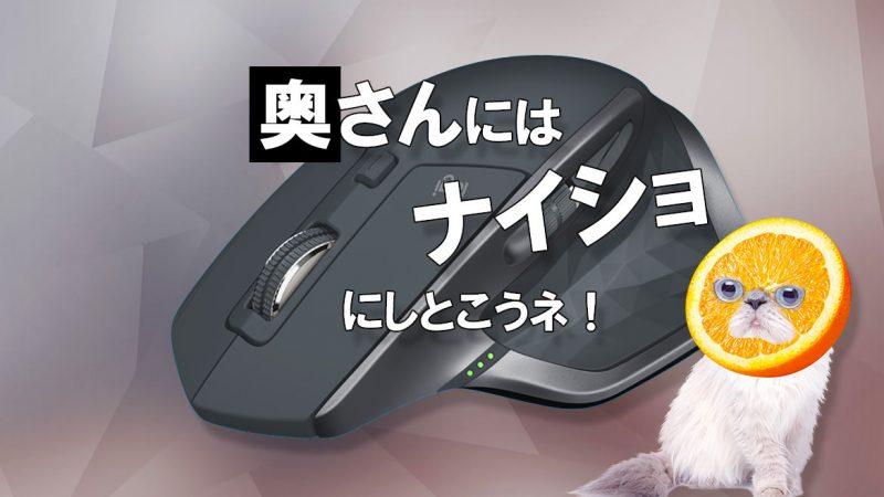 ロジクール MX2100sGR MX Master 2S を徹底検証!