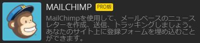Strikingly 外部アプリ ビジネス MailChamps