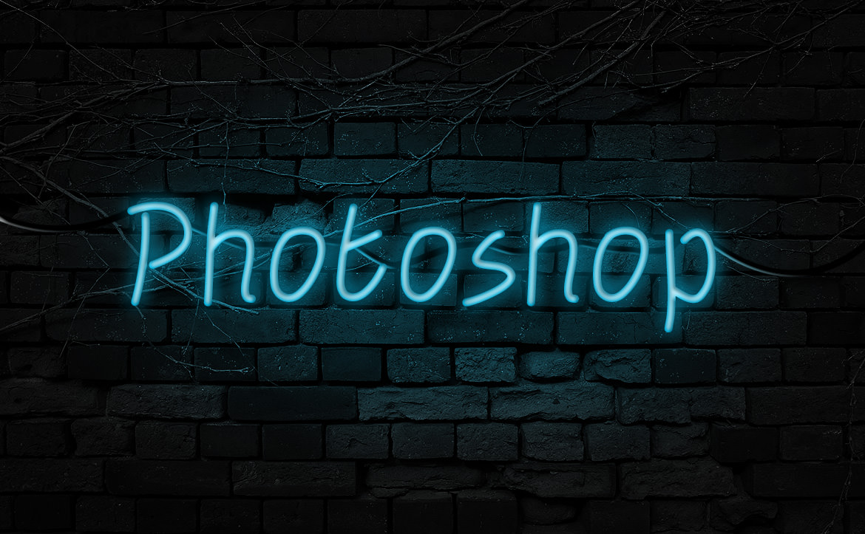 Photoshopで表現するネオンエフェクト! 簡単チュートリアル