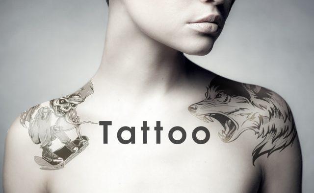 Photoshop 簡単にタトゥーを入れるテクニック