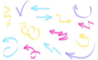 こちらもマーカーのような手書きの矢印(20)