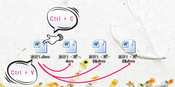 ファイルやフォルダを簡単にコピーする方法