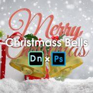 Adobe Dimension × Photoshopで作るクリスマスのベル