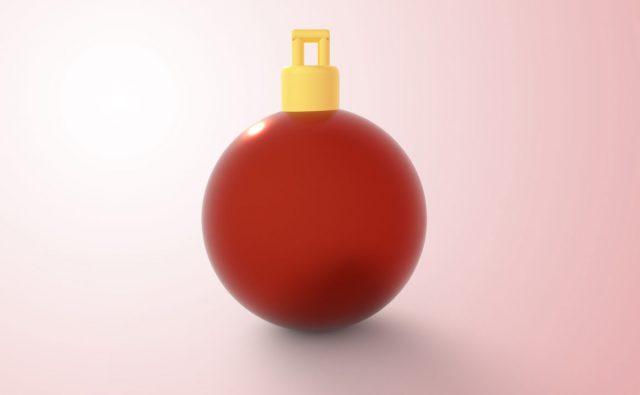 クリスマス ボール 赤色