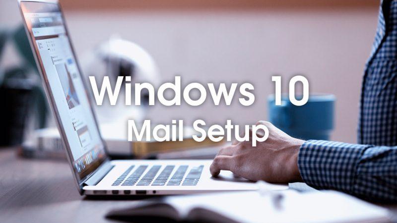 Windows10の標準メールでエックスサーバーのメールを受け取る方法