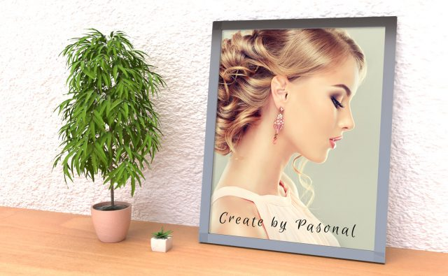 【Vol.6】Picture frame wall free psd(壁掛けフレーム) + ダウンロード