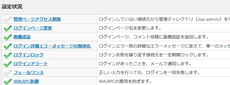 SiteGuard WP Pluginの導入