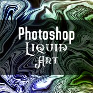 Photoshopでアーティスティックな流体アートを簡単に作る方法