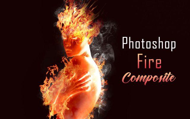 Photoshop 炎と人のコンポジット・テクニック / 簡単チュートリアル 1920 x 1200