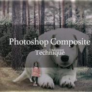 Photoshop 5分で出来ない 写真合成を上手く馴染ませるテクニック