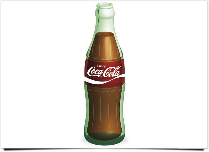 3Dコカコーラ完成