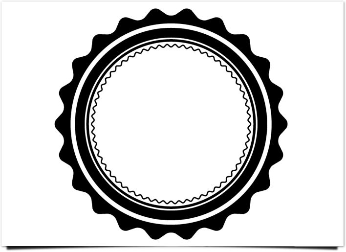 レトロ ロゴ リングの追加と調整