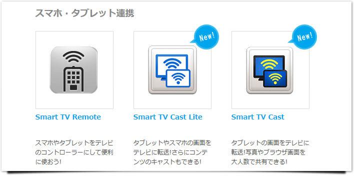 スマートテレビ タブレット
