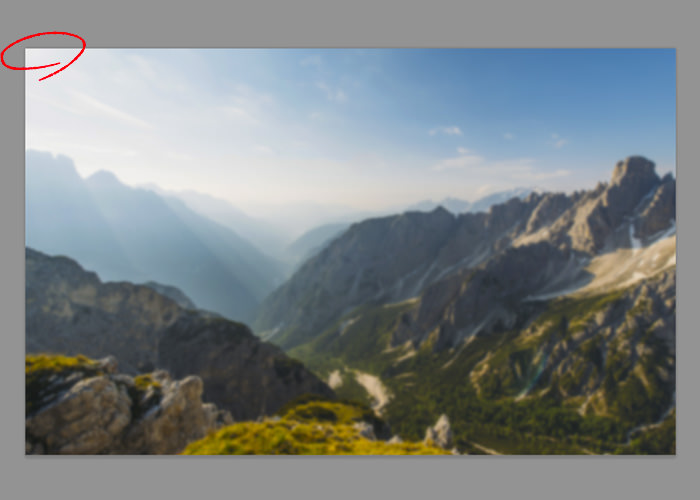 背景:山脈の配置