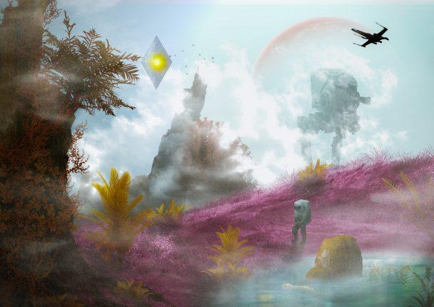 Pixel Squidを利用したマニュピレーション - No Man's Sky Style